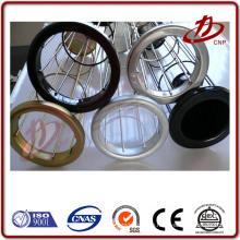 Industrie-Staub-Collector-Beutel-Filterkäfig mit verzinkter Zink-Behandlung