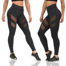 Printed Stretchy Compression Fitness Sport Cropped women Yoga pants Leggings