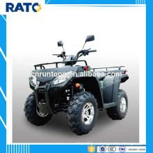 Экономичный RATO 250cc черный ATV с четырехтактным квадроциклом