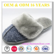 Chaussure de sport intérieure de qualité chaleureuse de qualité