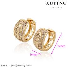 (29948) Xuping Fashion Generous Charms Pendiente de oro con alta calidad