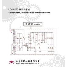(liandong) Semi-Automatic Book Trimming Machine (LD-1020C)
