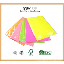 Fluorescent Colour Wrapping/Printing Paper for Wraping Gift