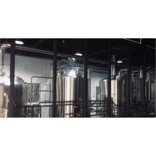 Пивное оборудование с системой санитарной обработки пива