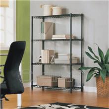 DIY 4 camadas de metal Office fio File Storage Rack com alta qualidade
