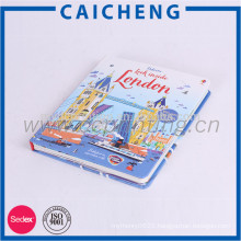 Custom Colorful Catalogue Cheap Hardcover Book Printing