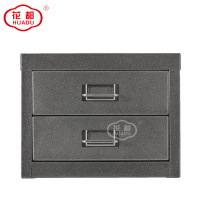 Desktop Storage small Drawers Cabinet Metal Design
