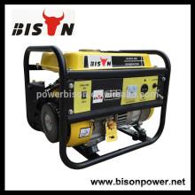 BISON 1Kva 156F Motor Gerador de gasolina Bom Preço para Camping