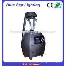Scanner de luz de varredura profissional 120w 2r