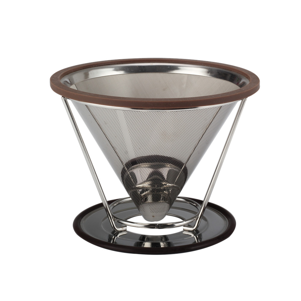 Stainless Steel Pour Over Coffee Dripper Coffee Dripper