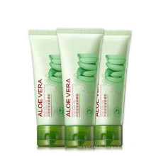 Skin care aloe vera gel moisturizing after sun