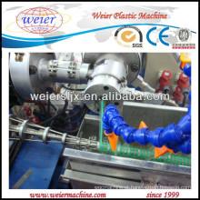 máquina de tubo espiral de cachimbo de água plástica PVC