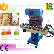 6 Color Sealed Cup Pneumatic Pad Printer for Ball