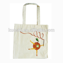 Cheap foldable 100% cotton canvas shopping bag