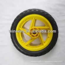Roue de mousse en plastique EVA de 12 pouces / roue de chariot de bébé / roue de poussette de bébé