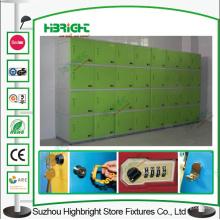 ABS plástico de almacenamiento armario escuela armario biblioteca armario
