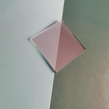 100 * 100 * 1,1 mm große Strahlteilerfilterplatte