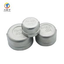 Matériau de bouchon d'extrémité en acier inoxydable