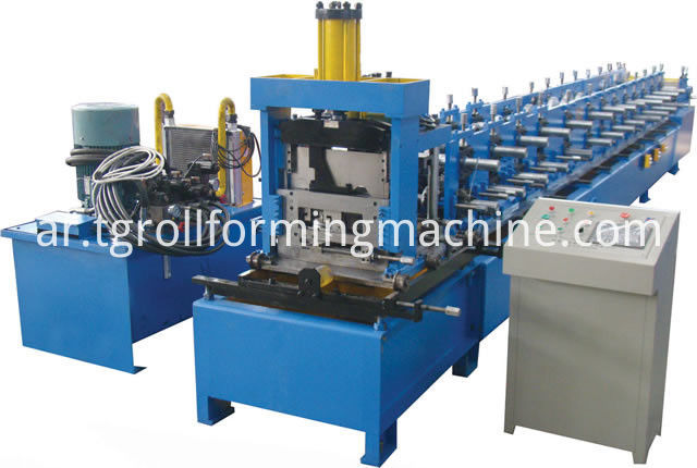 pl12704989-high_efficiency_cz_purlin_roll_forming_machine_automatic_hydraulic_shear