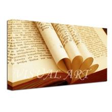 Hogar personalizado de decoración moderna pared de libro decorativo