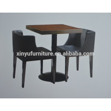 Leisure design simple coffee table and solid wood chair set XYN928
