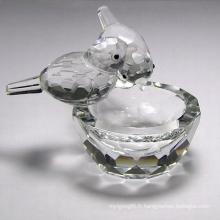 Cadeaux de cristal de haute qualité K9 Crystal Animal (JD-CF-008)
