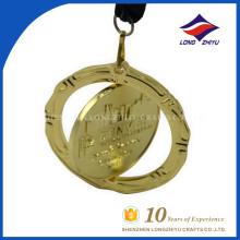 Exquisite Custom Award Souvenir Rotatable 3d Medals