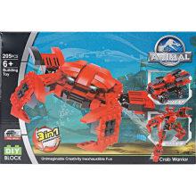 Brinquedo Brinquedo Brinquedo Educativo Crab Deformação Blocos Toy