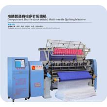 Computerized Mutli-Needle High Speed Shuttle Lock Stitch Quilting Machine for Textiles