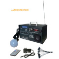 10W Radio Solarbeleuchtung tragbares System Kit