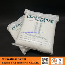 100% Soft Polyester Cleanroom Wipers
