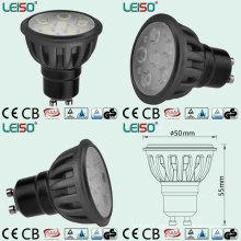 GU10 LED Spotlight with Totally Same Halogen Light Size