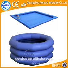 Sacco piscina de água inflável com colchão fabricados na China