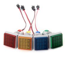 AD101-22VAHzS: Dreiphasen-Voltmeter-Amperemeter-Frequenzmesser