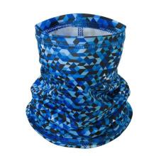Anti UV polyester elastic ice silk breathable Cycling Face Mask sweatband headband bandana scarf for outdoor sports