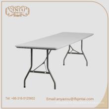 mesa plegable de plástico para exteriores