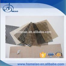 Novo Design Plain tecelagem PTFE revestido de fibra de vidro tecido de malha