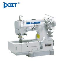 DT 500-03FQ 3 funciones costura plana general, unión de cinta, costura de la cubierta en 1 máquina industrial de enclavamiento de cama plana