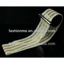 Padrões de Fashionme correia frisada handmade