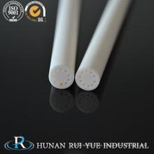 Usar una barra de cerámica de alúmina resistente con la mejor calidad