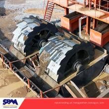 Aplicação de plantas de areia LSX920 tipo pedra lavar planta máquina de lavar areia com capacidade de 100 t / h