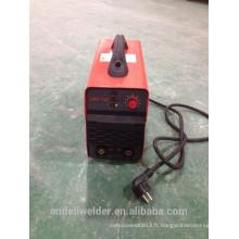 2015 nouvelle conception DC mma Mini machine de soudage à l'arc électrique avec double tension110V / 220V et étiquette