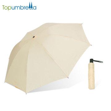 Nuevo diseño de paraguas de viaje ligero compacto automático