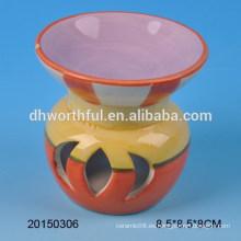 La decoración casera al por mayor morden la hornilla de incienso de cerámica