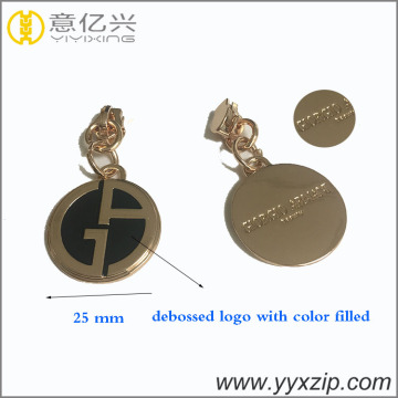 diseño 3 fashion pulller cute zipper slider