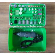 135w 217pcs ETL GS CE Portátil Handheld Hobby Poder Rotary Tool Accessory Set Mini Kit Elétrico Grinder