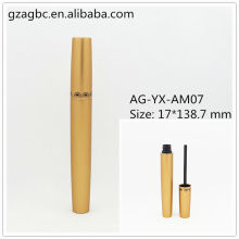 Elegante & leer Aluminium Mascara Rohr AG-YX-AM07, AGPM Kosmetikverpackungen, benutzerdefinierte Farben/Logo