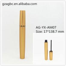 Elegant&Empty Aluminum Round Mascara Tube AG-YX-AM07, AGPM Cosmetic Packaging , Custom Colors/Logo