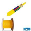 cable de fibra óptica monomodo de 48 núcleos de búfer ajustado