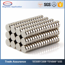 High quality Sintered Neodymium Iron Boron Disc N40H Magnet